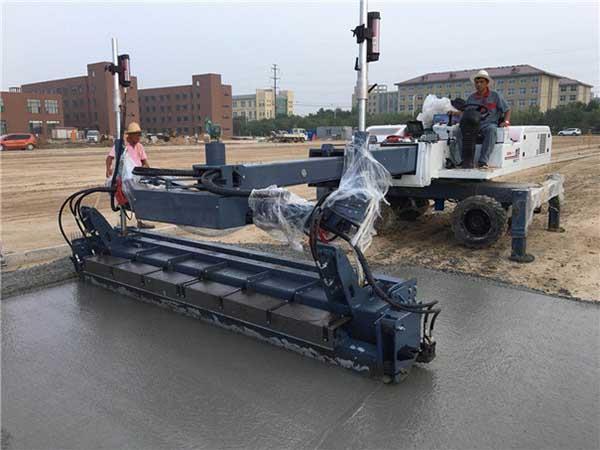 混凝土激光整平机试车需到位 如此可保设备良好运行